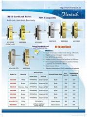RF card Luxurious lock