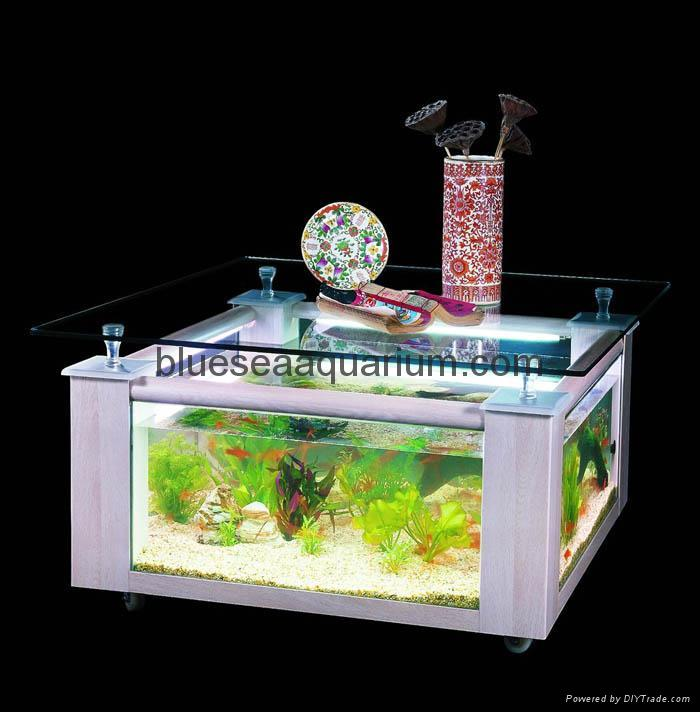 Table aquarium china manufacturer aquarium equipment - Aquarium coffee table diy ...