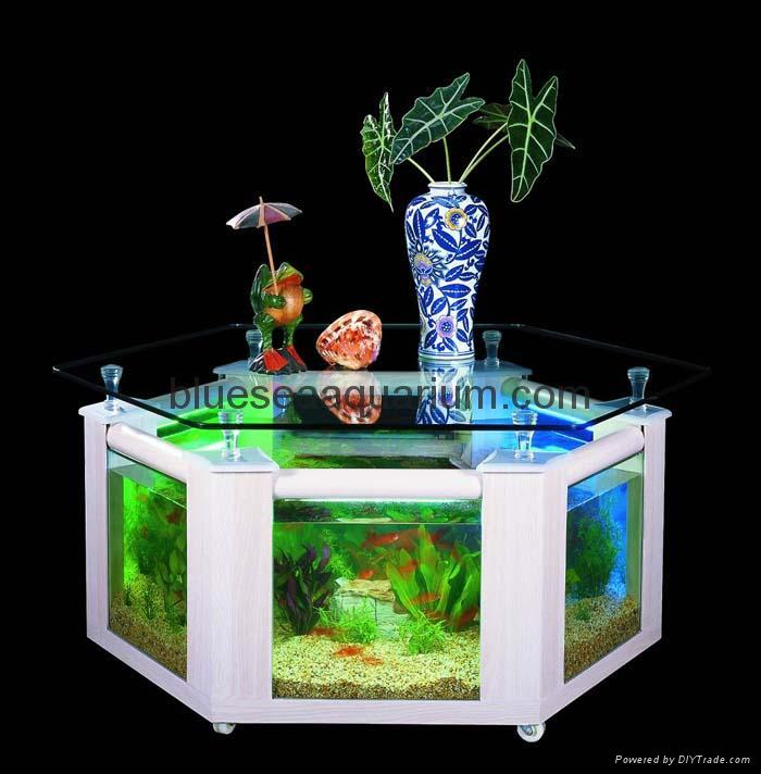 how to clean a fish tank coffee table