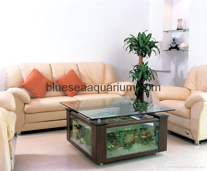 Coffee table aquarium cf1550 china manufacturer pet - Aquarium coffee table diy ...