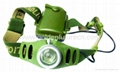 3 watt High power led headlamp