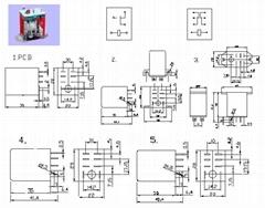 JQX-13FC 小型強功率交直流電磁繼電器