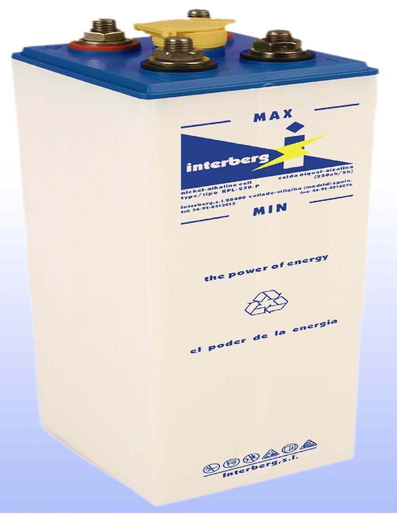 nickel cadmium batteries product catalog spain interberg. Black Bedroom Furniture Sets. Home Design Ideas