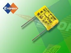 Metallic Polypropylene Film X2 Capacitor