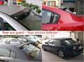 Car Rear Sun Guards, Window Deflector,