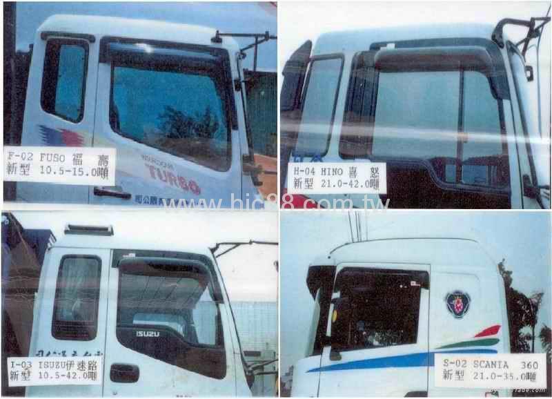 Truck Window Visor, Sun Visor For All Car Models 1