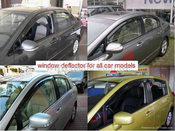window deflector , door visor, vent visor , sun visor for all car models 1