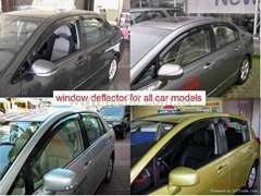 window deflector , door visor, vent visor , sun visor for all car models
