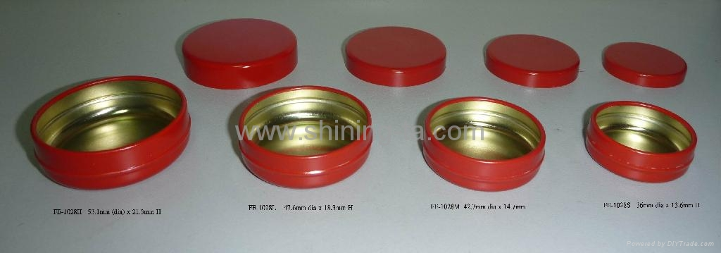 New lipBalm Metal Container 3