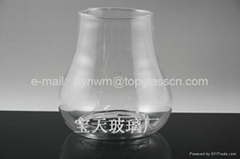 Pear-shaped glass
