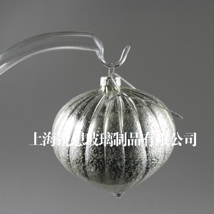 吹制玻璃工艺品 手工吹制玻璃球 玻璃空心制品 电镀空心球