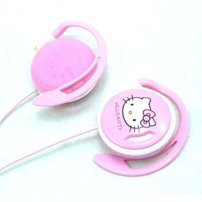 Hello kitty Headset Headphone Earphone Microphone - E-05 - OEM (China
