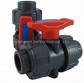 PVC TRUE UNION  BALL VALVE (Hot Product - 1*)