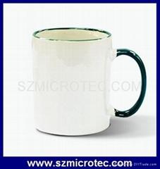 11oz Fringe Color Coated Mug- MT-B003