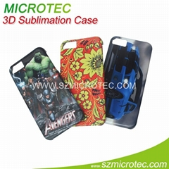 3D Sublimation Phone Case - Sublimation