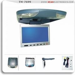 "7"" Flip Down Monitor with IR Transmitter"
