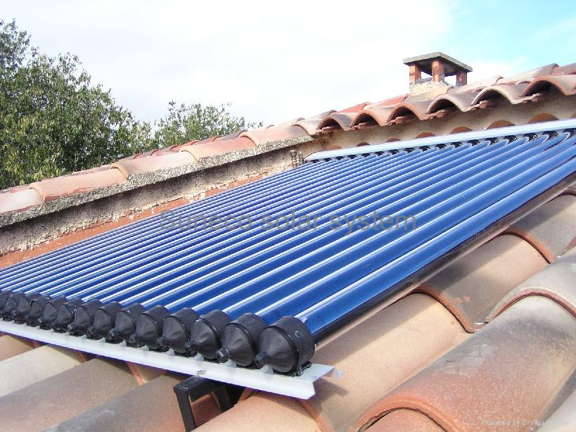 Solar hot water product heat pipe solar collectors 58 for Diy solar collector