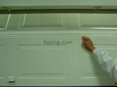 Finger Protect Garage Door
