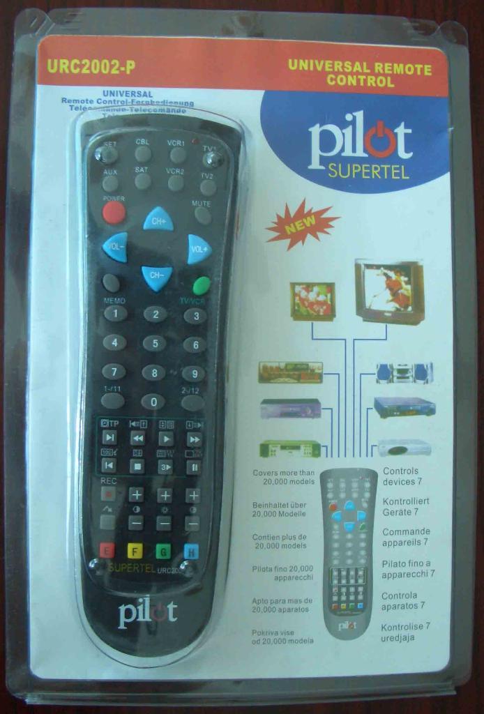 Universal remote control 1