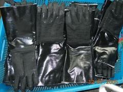 """18"""" Neoprene Coated Gloves-Rough Finish"""