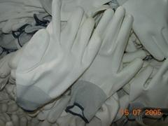 Nylon PU coated gloves