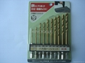 10pcs hex shank drill set