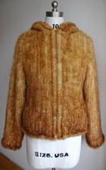 mink knited jacket 水貂編織夾克