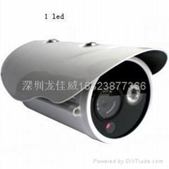 兼容海康大华室外防水点阵红外720PONVIF百万高清网络摄像机