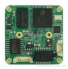 兼容海康大华1080P200万高清网络摄像机主板模块IPCNVR
