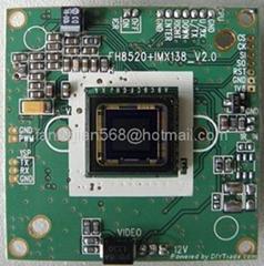 新高清1200线SONY138+8520芯片模组主板板机