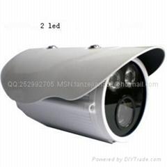 兼容海康大华960P130万像素ONVIF网络高清红外阵列防水摄像机