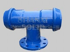 ductile iron/PVC fittings