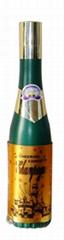 small champagne confetti cannon