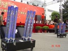 DZF-8 + eletric confetti launcher 101