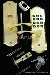 MECHANICAL KEYLESS DOOR LOCK ZMAL