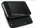 iPhone 4 4G Mini Bluetooth Keyboard Plastic Keyboard with ABS Case Cover