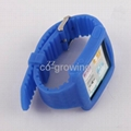 iPod Nano 6 Silicon silicone Watch Band wrist strap case