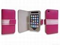 Leather case for Apple iphone 3g/3gs
