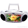 Boombox portable dvd player(DTV-9)