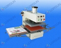 Air operated double location heat press machine