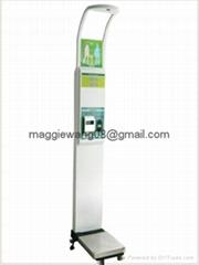 height and weight vending machine