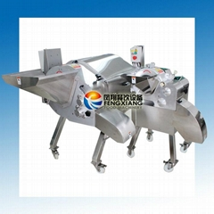 Large-scale fruit and vegetable dicing machine VIDEO
