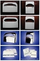 Toilet seat paper cover and dispenser
