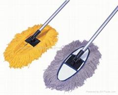 fiber dust mop