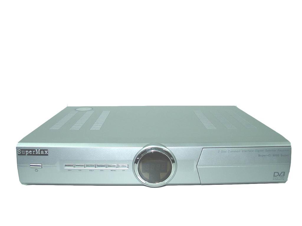 digital satellite receiver (Supermax ci 6000) - Product Catalog -