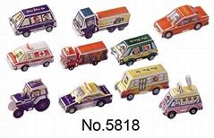 3d puzzle model