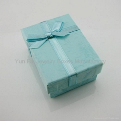 BOWKNOT JEWELRY BOX/PAPER JERWELRY BOX/RIBBON BOX