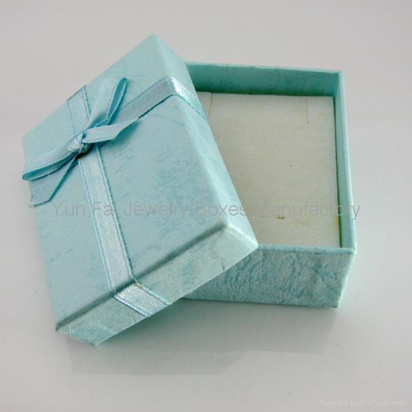 蝴蝶结首饰盒/丝逞首饰盒/吊坠盒 2
