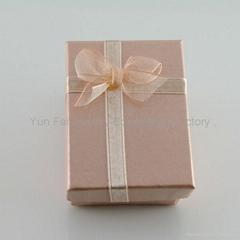 BOWKNOT JEWELRY BOX/PAPER JERWELRY BOX/RIBBON BOX