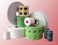 Heat sealing tea bag filter paper